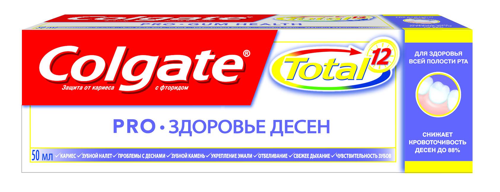Colgate выпустила обновленную линейку Colgate Total